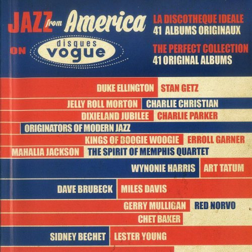 VA - Jazz From America On Disques Vogue [20CD Box Set] (2015)