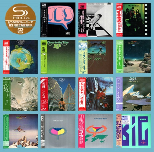 Yes - Collection [Japanese Edition, SHM-CD, 2009] (1969-1987)