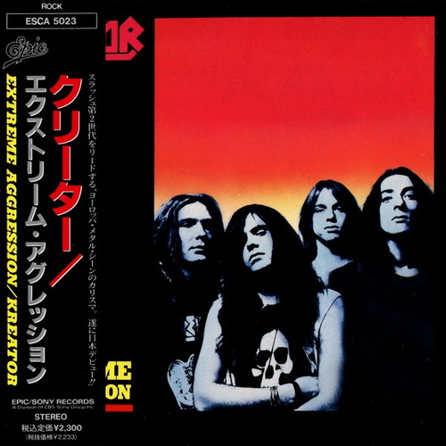 Kreator - Extreme Aggression (1989) [Japanese Edition]