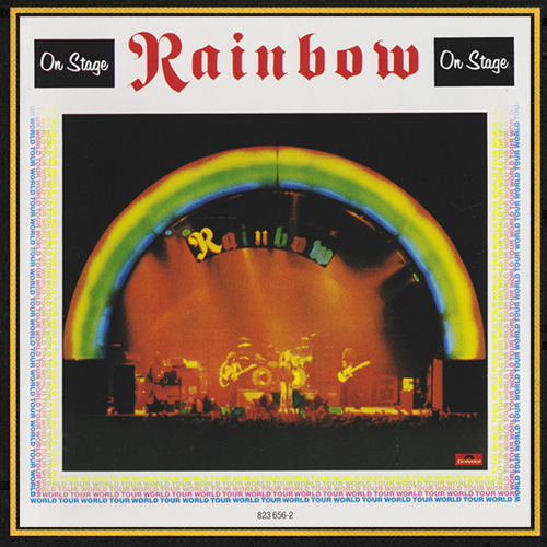 RAINBOW «Discography 1975-2009» (12 x CD • PolyGram Records Ltd. • Issue 1983-2009)