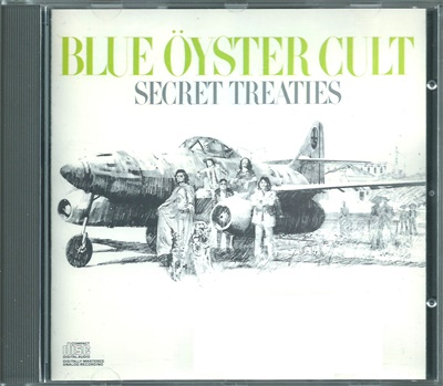 "Blue Öyster Cult - ""Secret Treaties"" - 1974 (Columbia CK32858)"