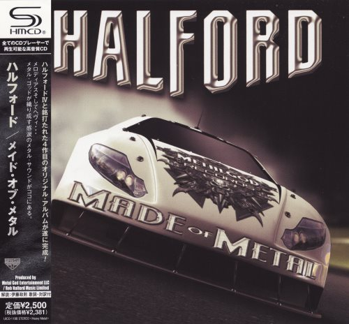 Halford - Made Of Metal [Japanese Edition] (2010)