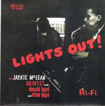 The Jackie McLean Quintet - Lights Out! (1956) [2013 SACD]