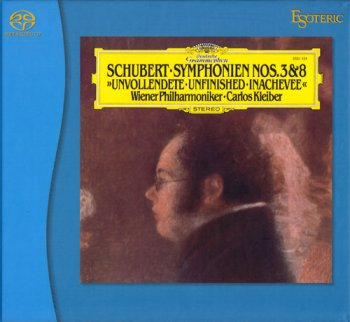 "Carlos Kleiber - Franz Schubert: Symphony No.8 ""Unfinished"" & No.3 (1979) [2010 SACD]"