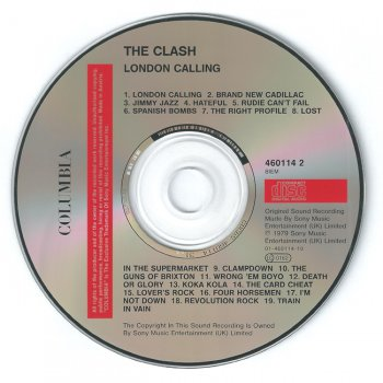"The Clash - ""London Calling"" - 1979"