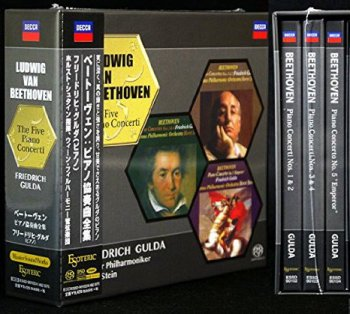 Friedrich Gulda, Wiener Philharmoniker - Beethoven: The Five Piano Concerti (1970-1971) [2014 SACD]