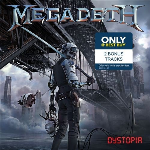 Megadeth - Dystopia [Best Buy Edition] (2016)