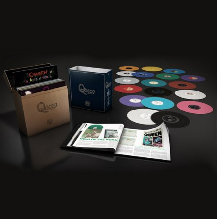 Queen - The Studio Collection [US Pressed Vinyl Box Set] (2015)