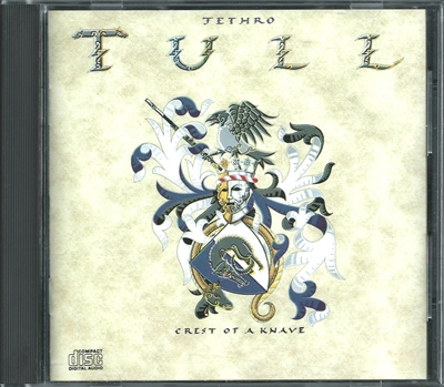 "Jethro Tull - ""Crest Of A Knave"" - 1991 (non-remastered, US, VK 41590)"