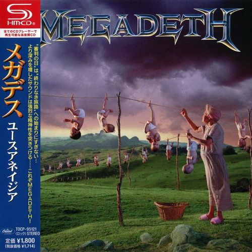 Megadeth - Youthanasia (1994) [Japanese SHM-CD 2013]