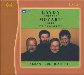 Alban Berg Quartet - Haydn, Mozart: String Quartets (1990, 1994) [2014 SACD + HDtracks]