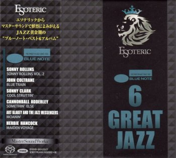 VA - Blue Note 6 Great Jazz (2015)