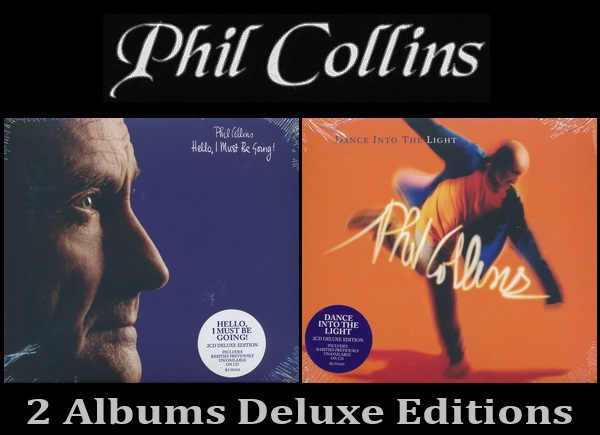Phil Collins: 2 Albums - 2CD Sets Deluxe Edition Atlantic Records 2016
