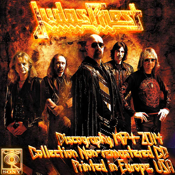JUDAS PRIEST - Discography (26 x CD • CBS Records, Inc. • Issue 1982-2014)