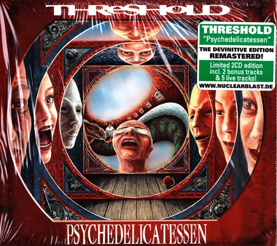 Threshold - Psychedelicatessen (1994) [2CD, Remastered 2012]