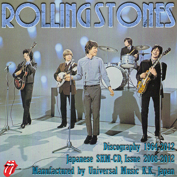 THE ROLLING STONES «Discography 1964-2012» (37 x SHM-CD • Universal Music K.K., Japan • Issue 2008-2012)