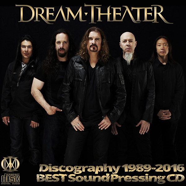 DREAM THEATER - Discography (30 x CD • 20 albums • 1989-2016)