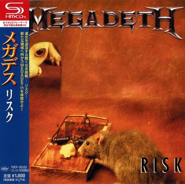 Megadeth - Risk (1999) [Japanese SHM-CD, 2013]