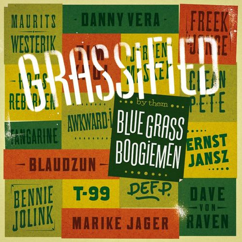 Blue Grass Boogiemen - Grassified (2016)