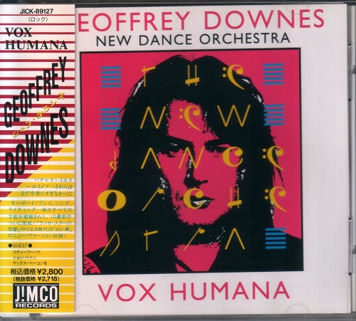 Geoffrey Downes & New Dance Orchestra - Vox Humana [Japanese Edition, Japan 1st press] (1992)