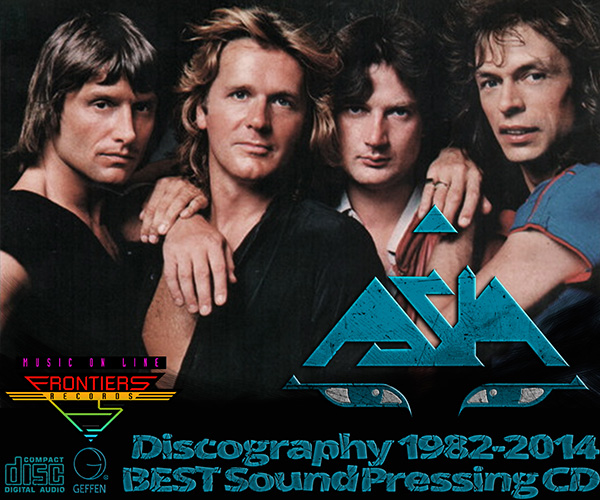 ASIA «Discography» (19 x CD • BEST Sound • Issue 1982-2014)