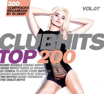 VA - Clubhits Top 200 Vol. 7 [3CD] (2016)