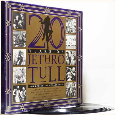 Jethro Tull - 20 Years Of J. T. The Definitive Collection (1988) (Vinyl, Box Set 5LP)