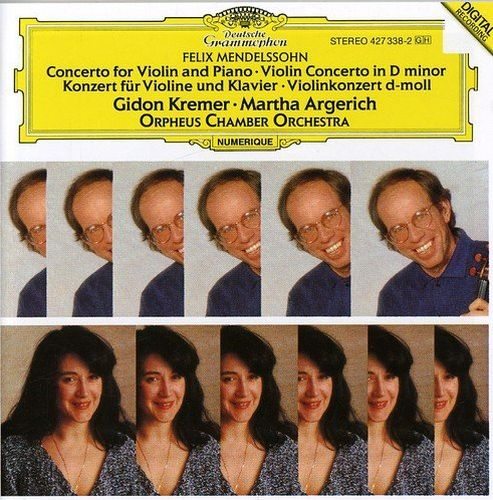 Gidon Kremer, Martha Argerich - Mendelssohn: Concerto for Violin and Piano; Violin Concerto (1989)