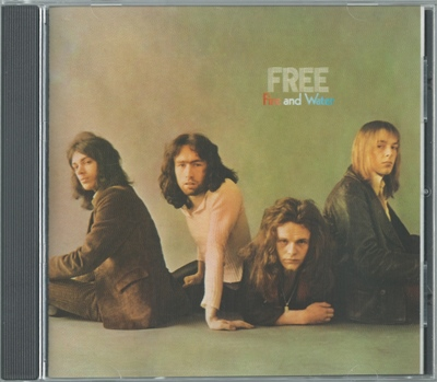 Free - Fire And Water - 1970 (US 1st press, A&M CD 3126, 1987)