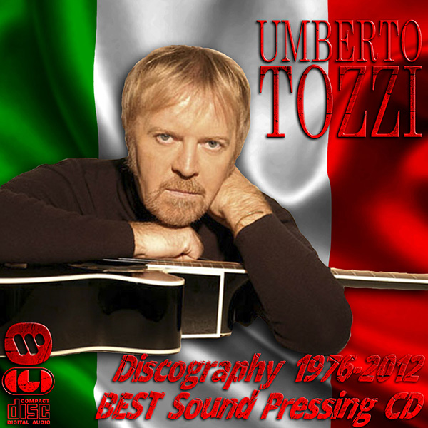 UMBERTO TOZZI - Discography (22 x CD • CGD Records S.p.A. • 1976-2012)