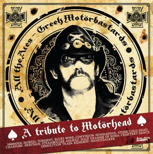 VA [Various Artists] - All The Aces - Greek Motorbastards: A Tribute To Motorhead (2016)