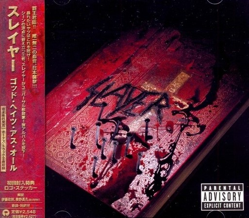 Slayer - God Hates Us All (2001) [Japanese Edition]