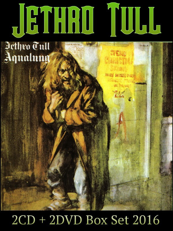 Jethro Tull: 1971 Aqualung 40th Anniversary Adapted Edition - 2CD + 2DVD Box Set Chrysalis Records 2016