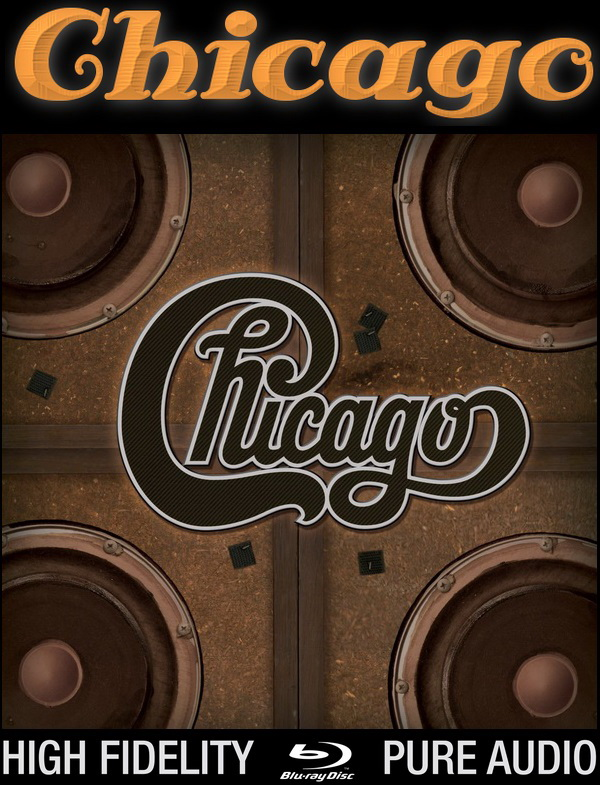Chicago: Chicago Quadio - 9 Disc Blu-Ray Audio Box Set Rhino Records 2016