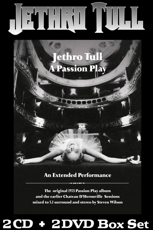 Jethro Tull: 1973 A Passion Play (An Extended Performance) - 2CD + 2DVD Box Set Chrysalis Records 2014
