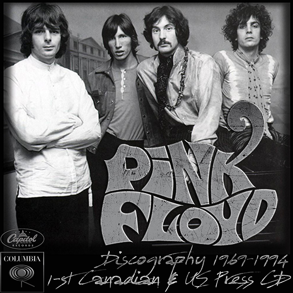 PINK FLOYD - Discography (12 x CD • Canada & US Press • 1983-1994)