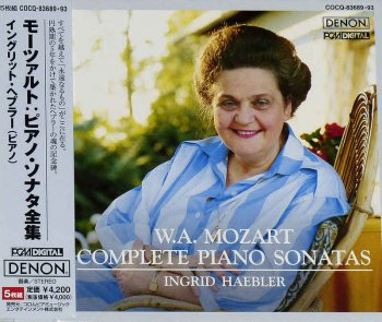 Ingrid Haebler - Mozart: Complete Piano Sonatas [5CD Box Set] (2005)