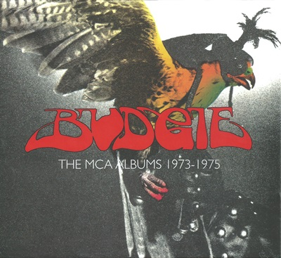 Budgie - The MCA Albums 1973 - 1975 (3CD Box, 2016)
