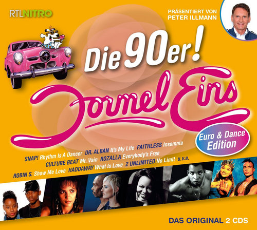 va formel eins die 90er euro and dance edition 2cd. Black Bedroom Furniture Sets. Home Design Ideas