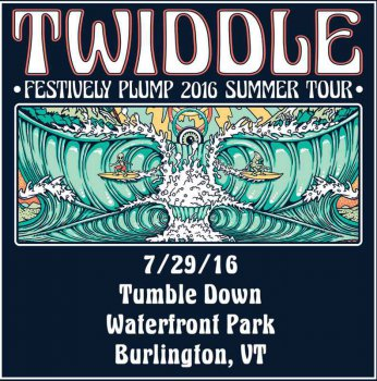 Twiddle - 2016-07-29 Waterfront Park, Burlington, VT (2016)