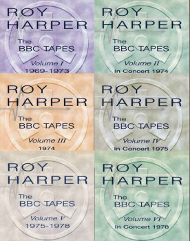 Roy Harper - The BBC Tapes Volume 1-6 (1997)