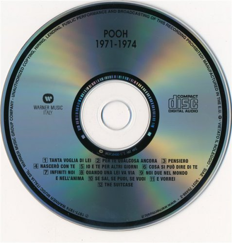 Pooh - Collection Of Best 1971-1984 (4CD)