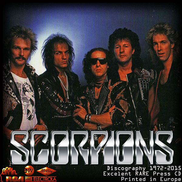 SCORPIONS - Discography (36 x CD • Europian 1st Press • Issue 1983-2015)