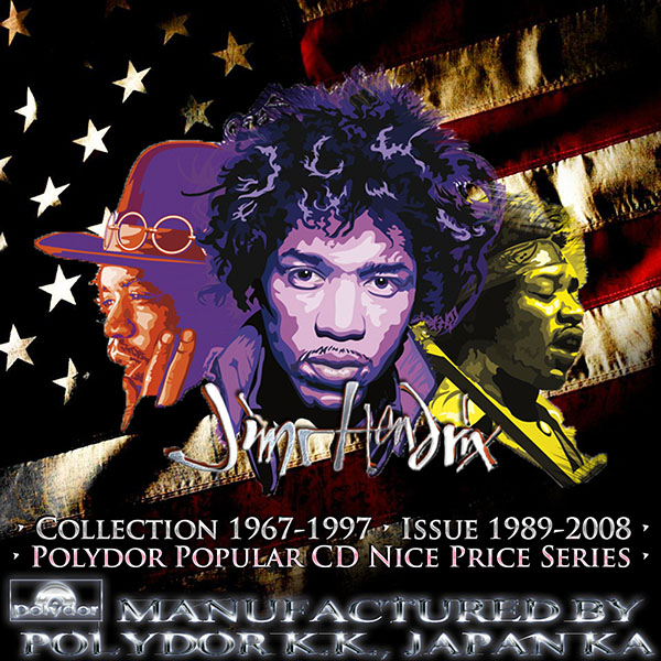 JIMI HENDRIX - Discography 1967-1997 (21 x CD • Polydor K.K., Japan • Issue 1989-2008)