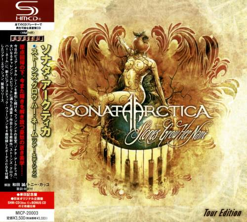 Sonata Arctica - Stones Grow Her Name: Tour Edition (2CD) [Japanese Edition] (2012)