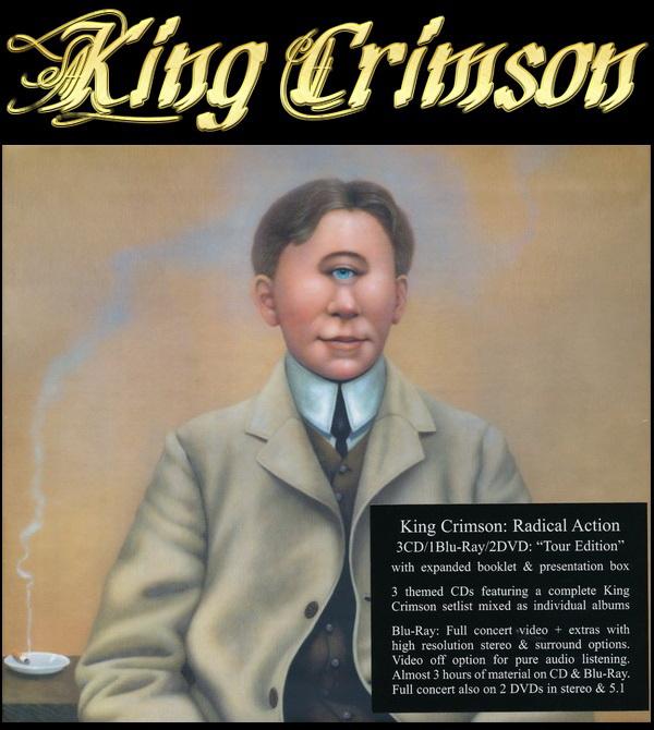 King Crimson: 2016 Radical Action 6 Disc Box Set 2016