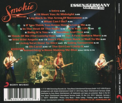 Smokie - The Concert: Live In Essen (1978) [2016]