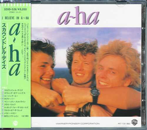 A-HA «Discography» (21 x CD • Japan 1st Pressing • 1985-2016)