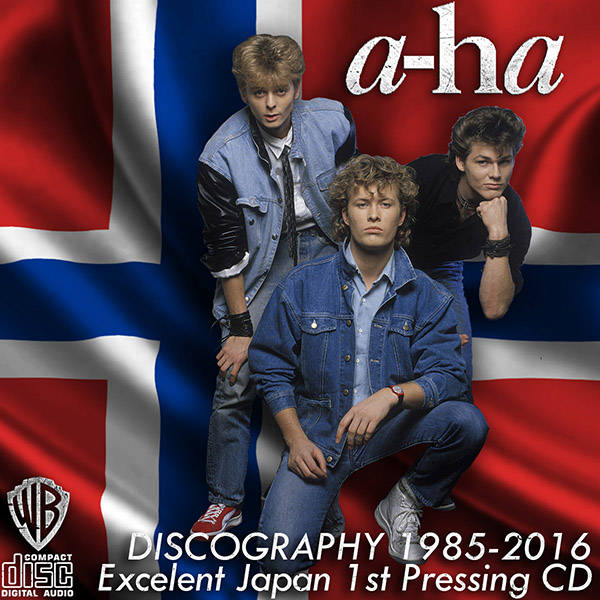 A-HA «Discography 1985-2016» (21 x CD • Japan 1st Pressing • 1985-2016)
