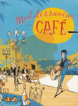 Chris Spheeris, Angel Julian & Anthony Mazzella - Mediterranean Cafe [3CD Box Set] (2006)